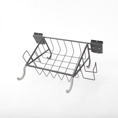 Horizontal Bike Rack w/ Basket & Holders